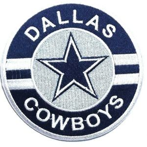 Dallas Cowboys Iron On patch NFL football team DIY